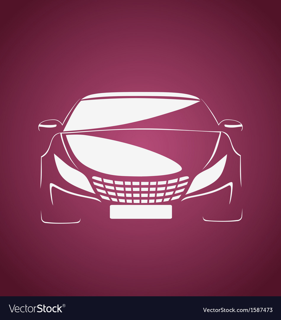 Auto in pink vector | Price: 1 Credit (USD $1)