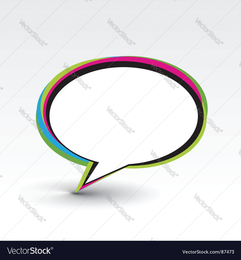 Messenger window vector | Price: 1 Credit (USD $1)