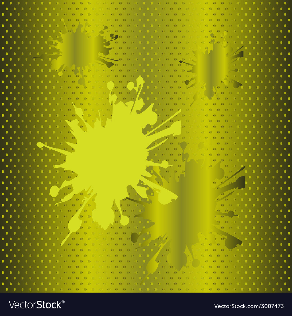 Splash halftone green background vector | Price: 1 Credit (USD $1)
