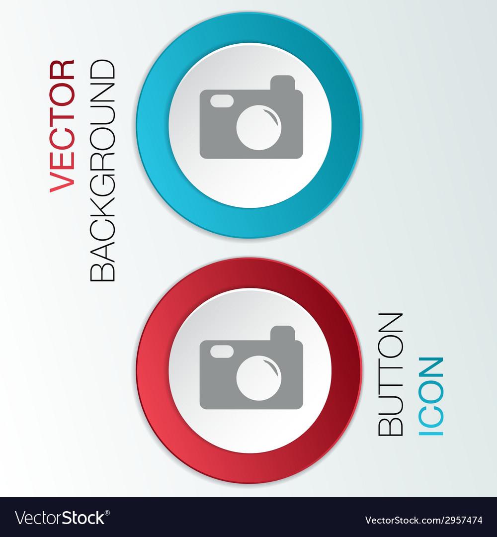 Photo camera vector | Price: 1 Credit (USD $1)