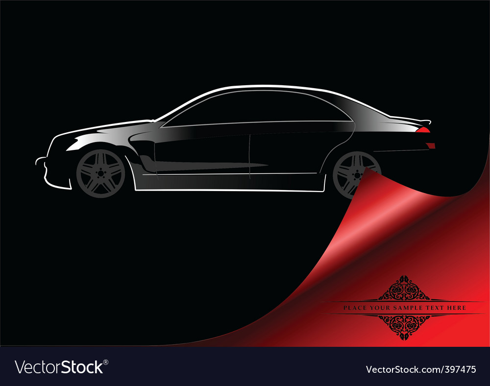 Abstract car background vector | Price: 1 Credit (USD $1)