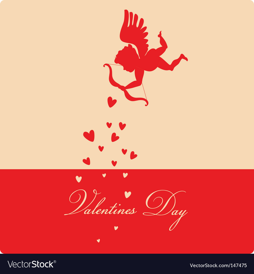 Retro valentine's background vector | Price: 1 Credit (USD $1)