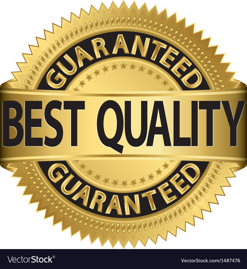 Best quality guaranteed gold label vector | Price: 1 Credit (USD $1)