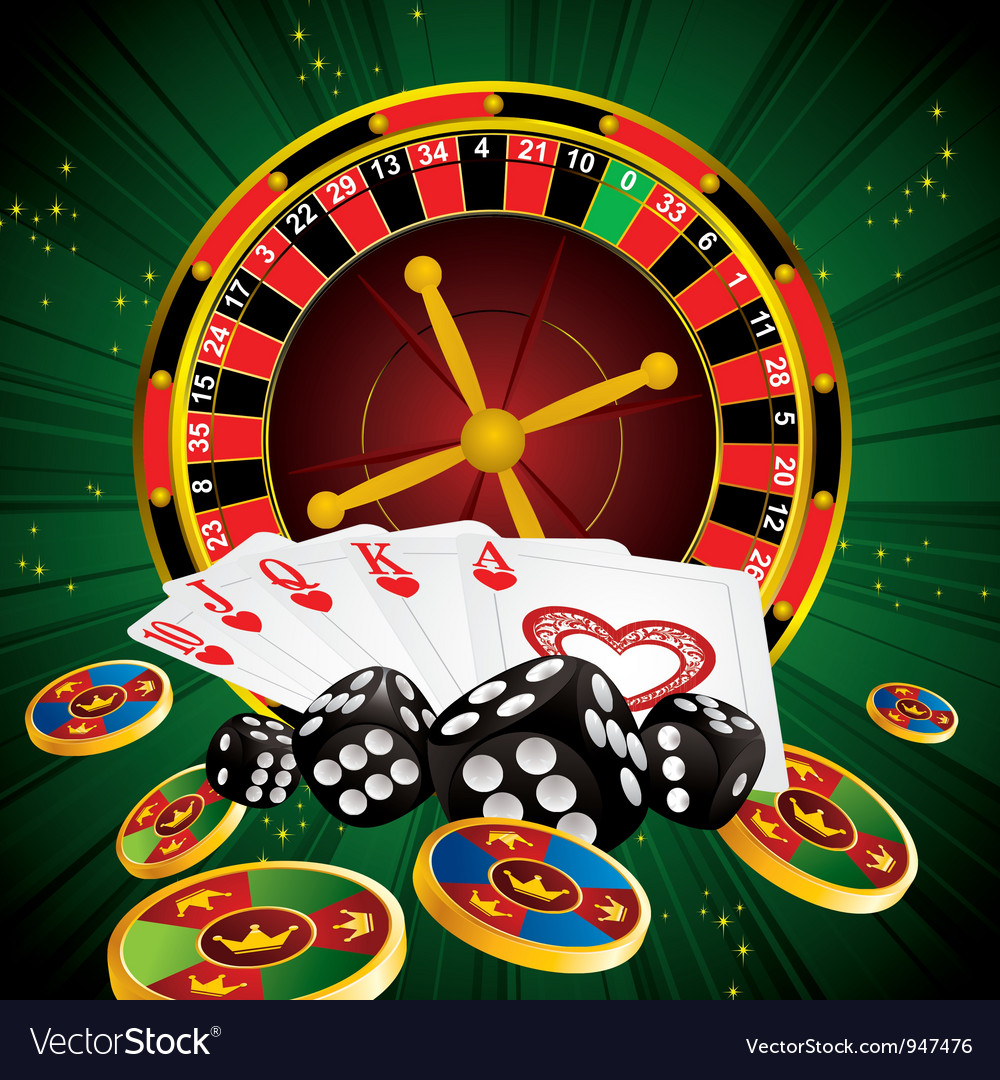 Roulette green all vector | Price: 3 Credit (USD $3)