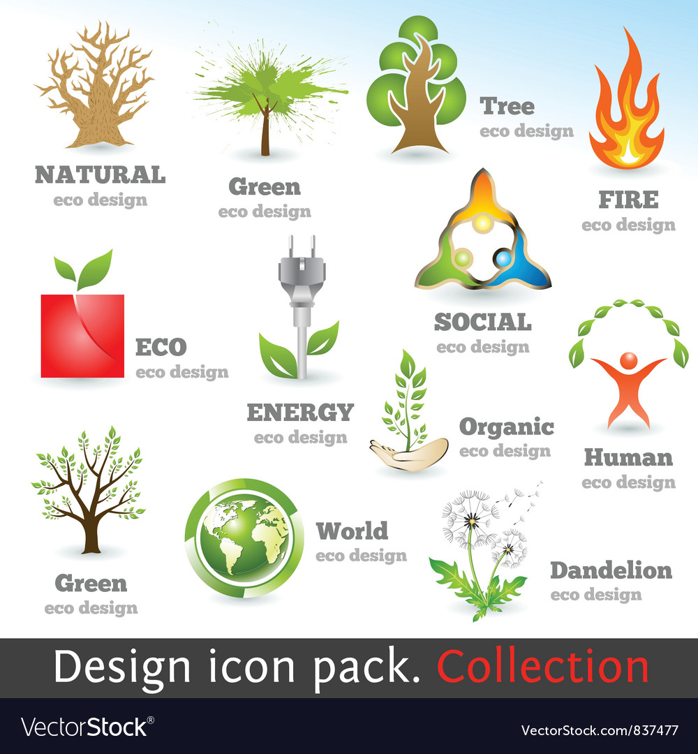 Design 3d color icon set vector | Price: 3 Credit (USD $3)
