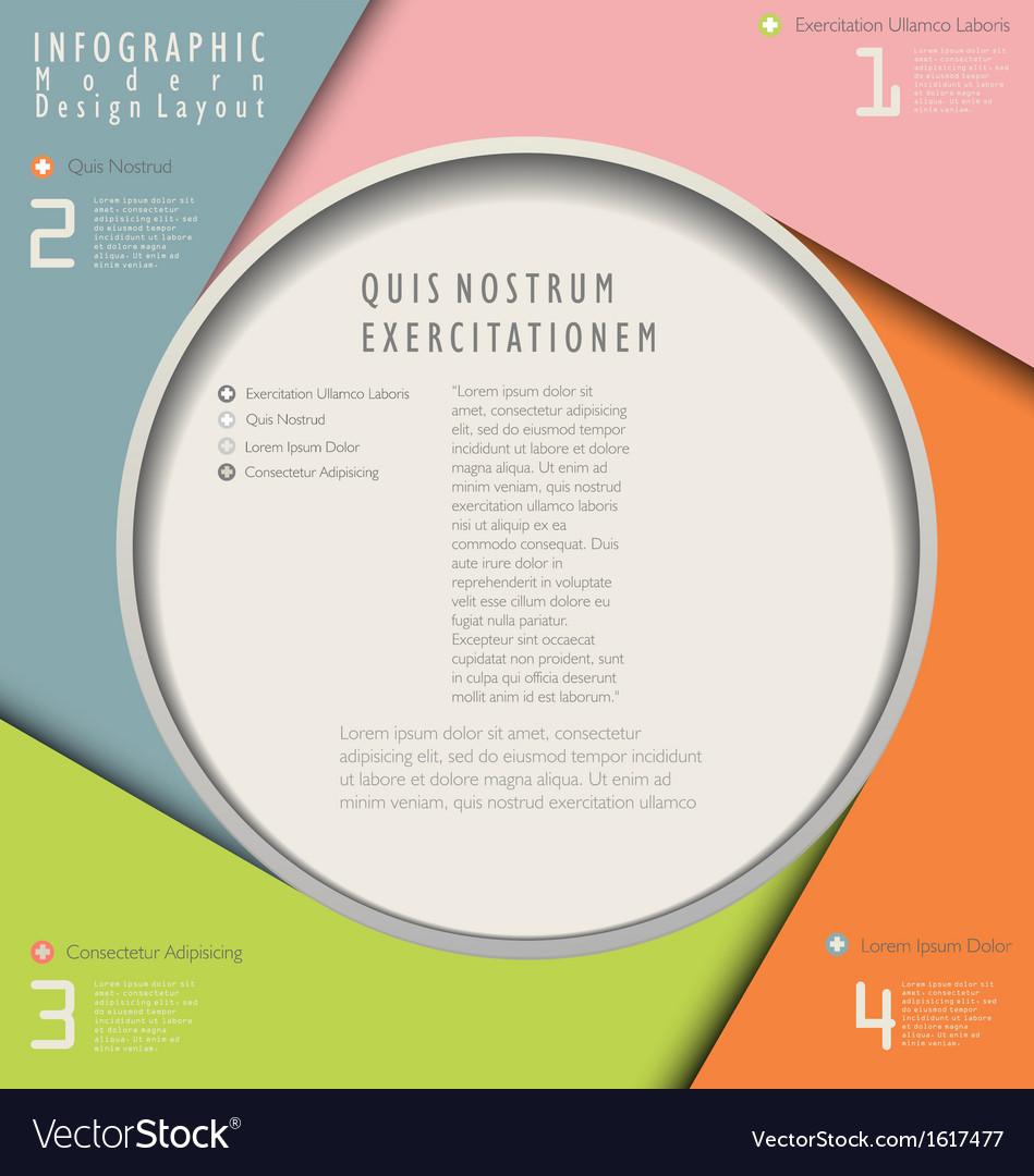 Modern design layout vector   Price: 1 Credit (USD $1)