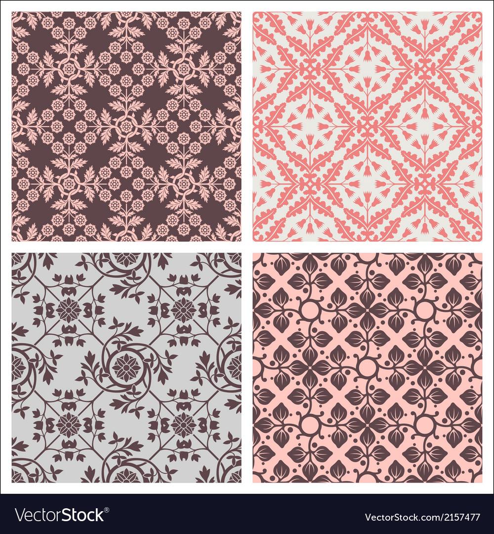 Seamless print patterns vector | Price: 1 Credit (USD $1)