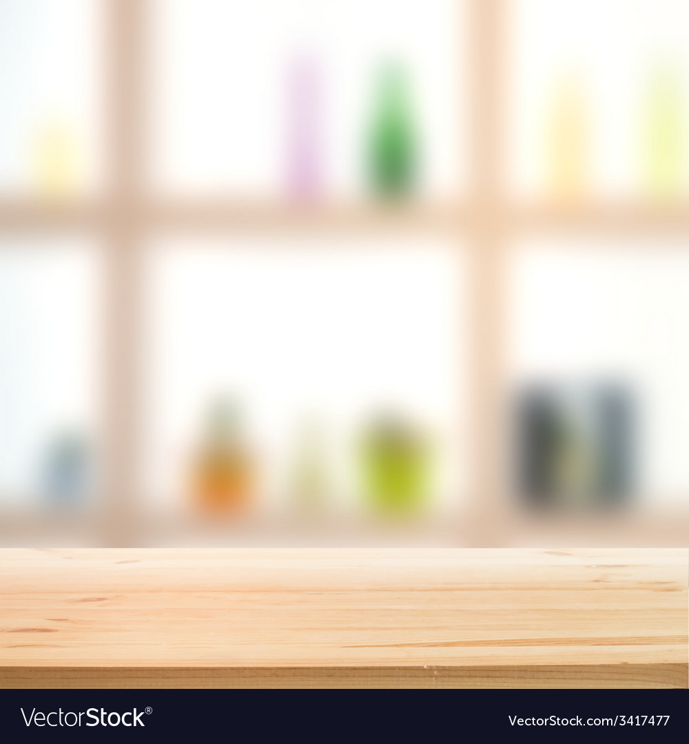 Showcase bottle shelves vector | Price: 1 Credit (USD $1)