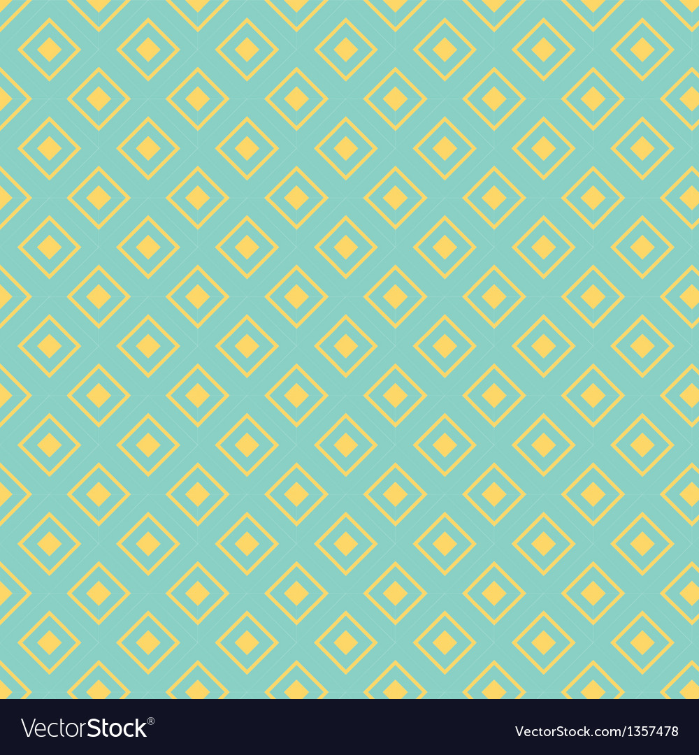 Seamless pattern with diamond shapes vector | Price: 1 Credit (USD $1)