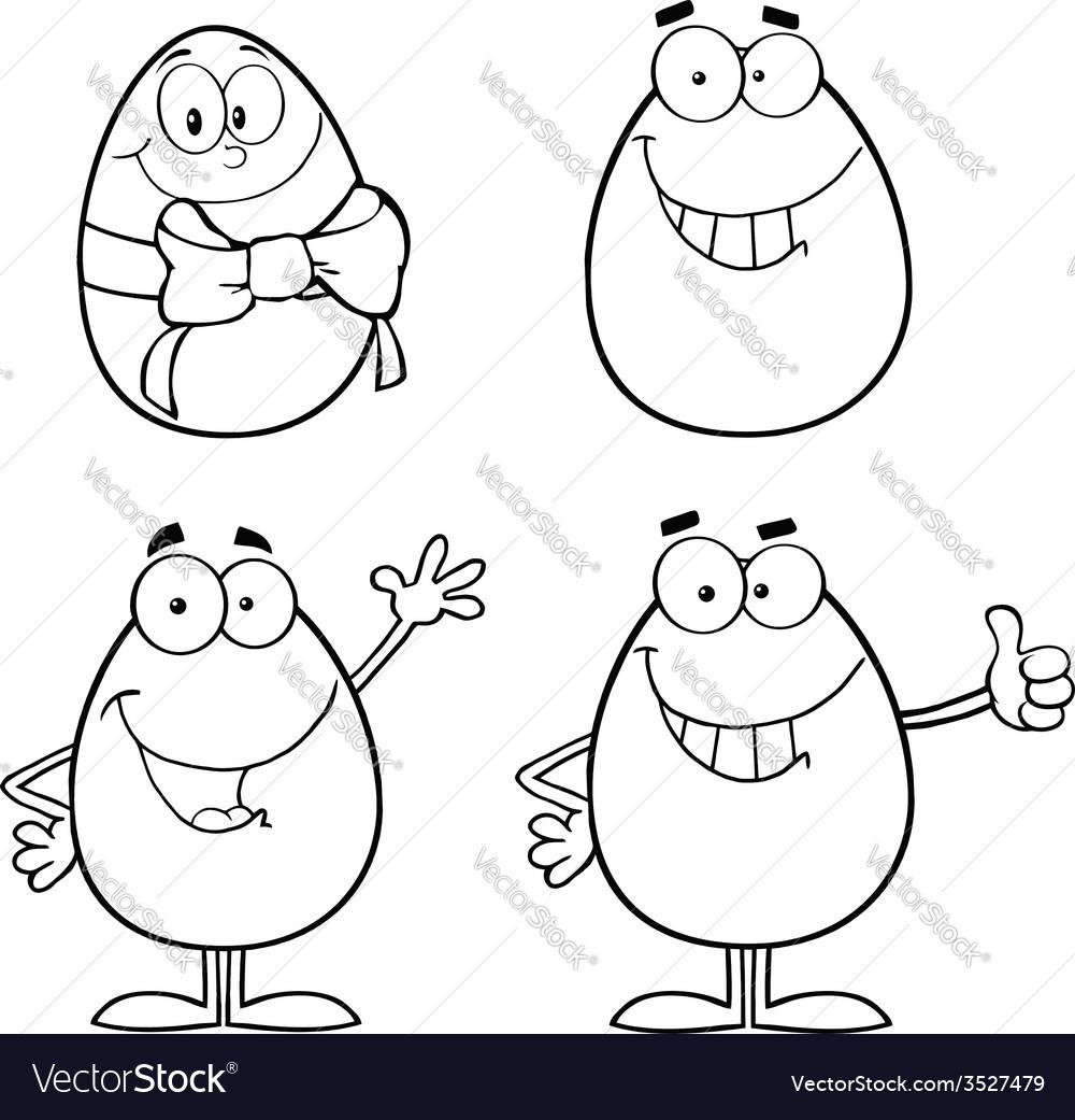 Cartoon egg design vector   Price: 1 Credit (USD $1)