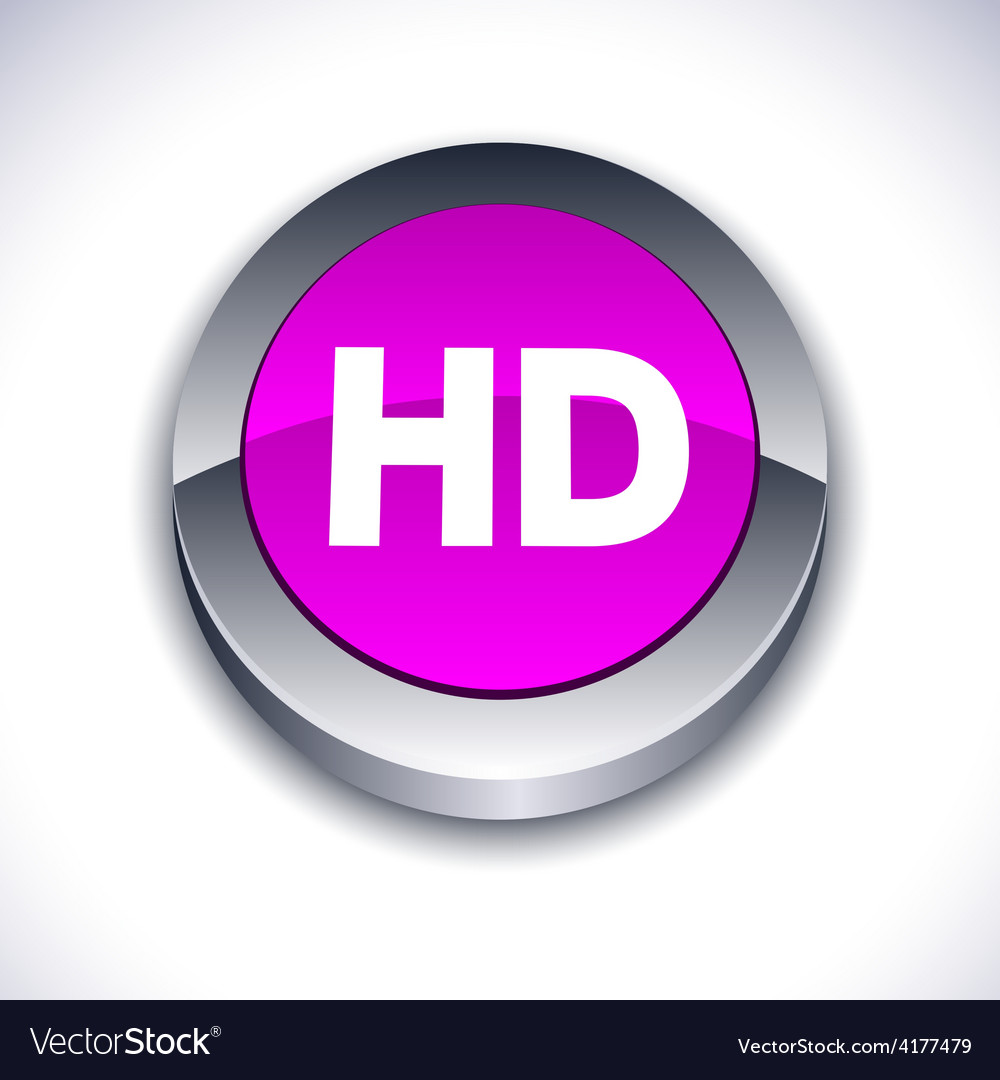 Hd 3d button vector | Price: 1 Credit (USD $1)
