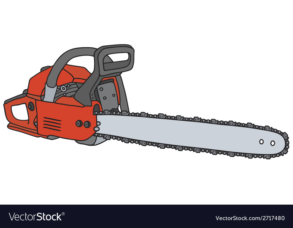 Chainsaw vector | Price: 1 Credit (USD $1)