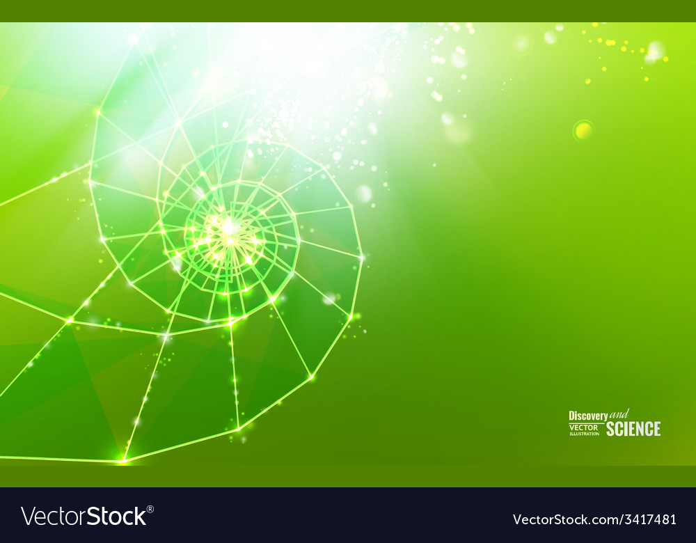 Abstract science design vector | Price: 1 Credit (USD $1)