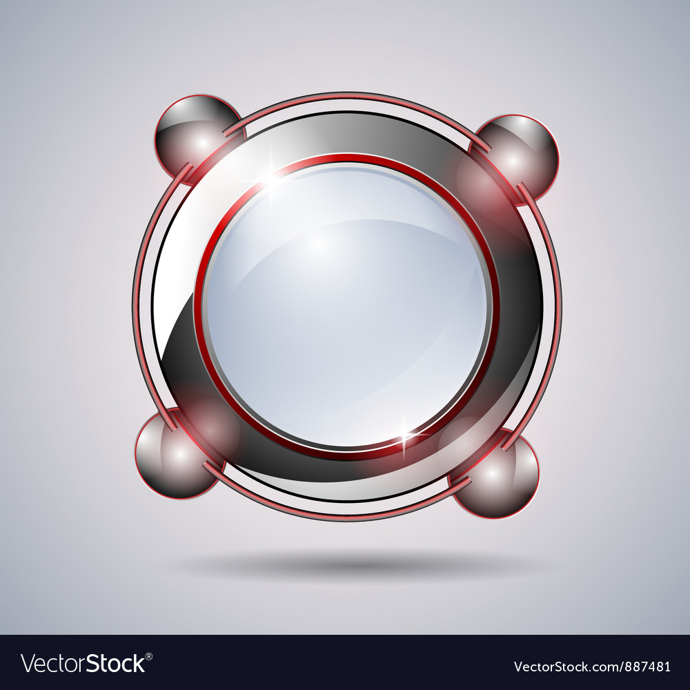 Abstract technology glass banner vector | Price: 1 Credit (USD $1)