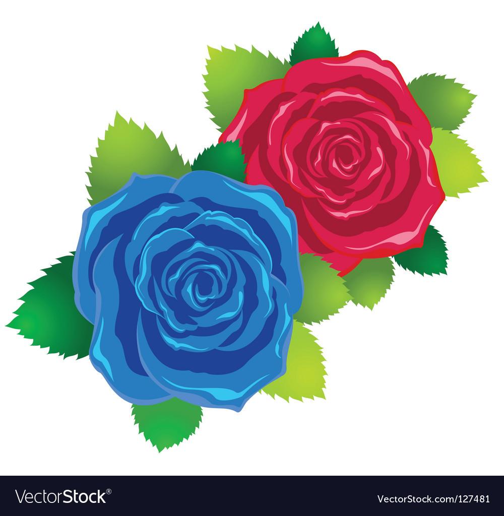 Symbolic love card vector | Price: 1 Credit (USD $1)