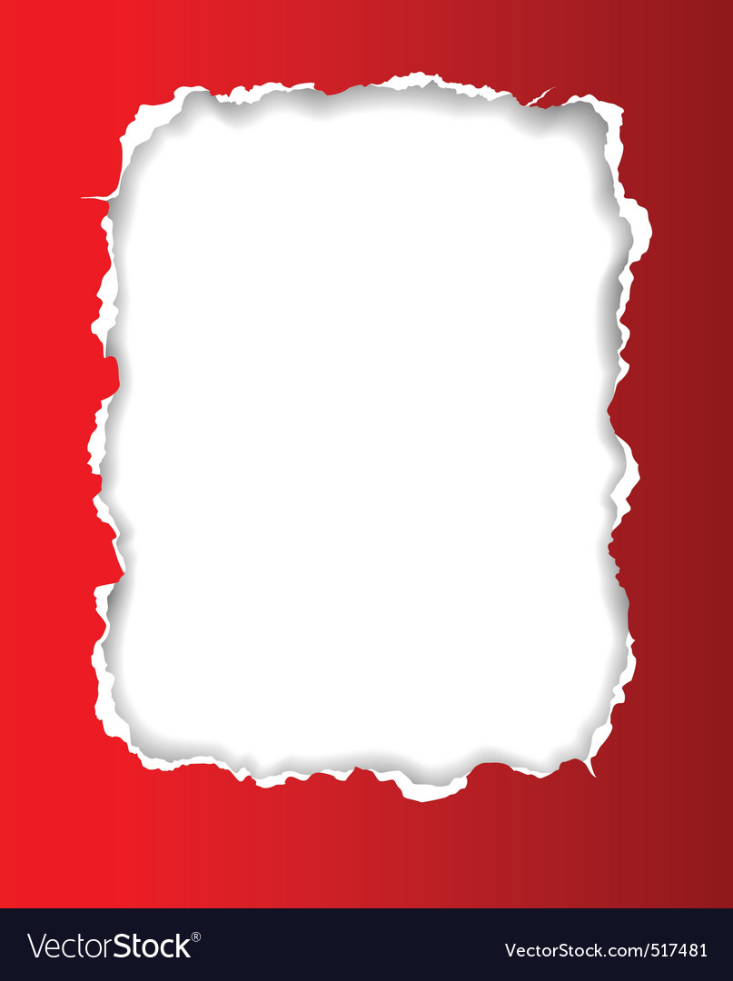 Torn paper frame vector | Price: 1 Credit (USD $1)