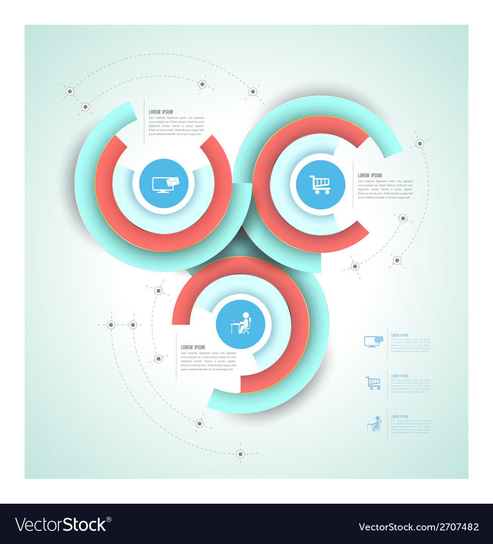 Circle group template vector | Price: 1 Credit (USD $1)