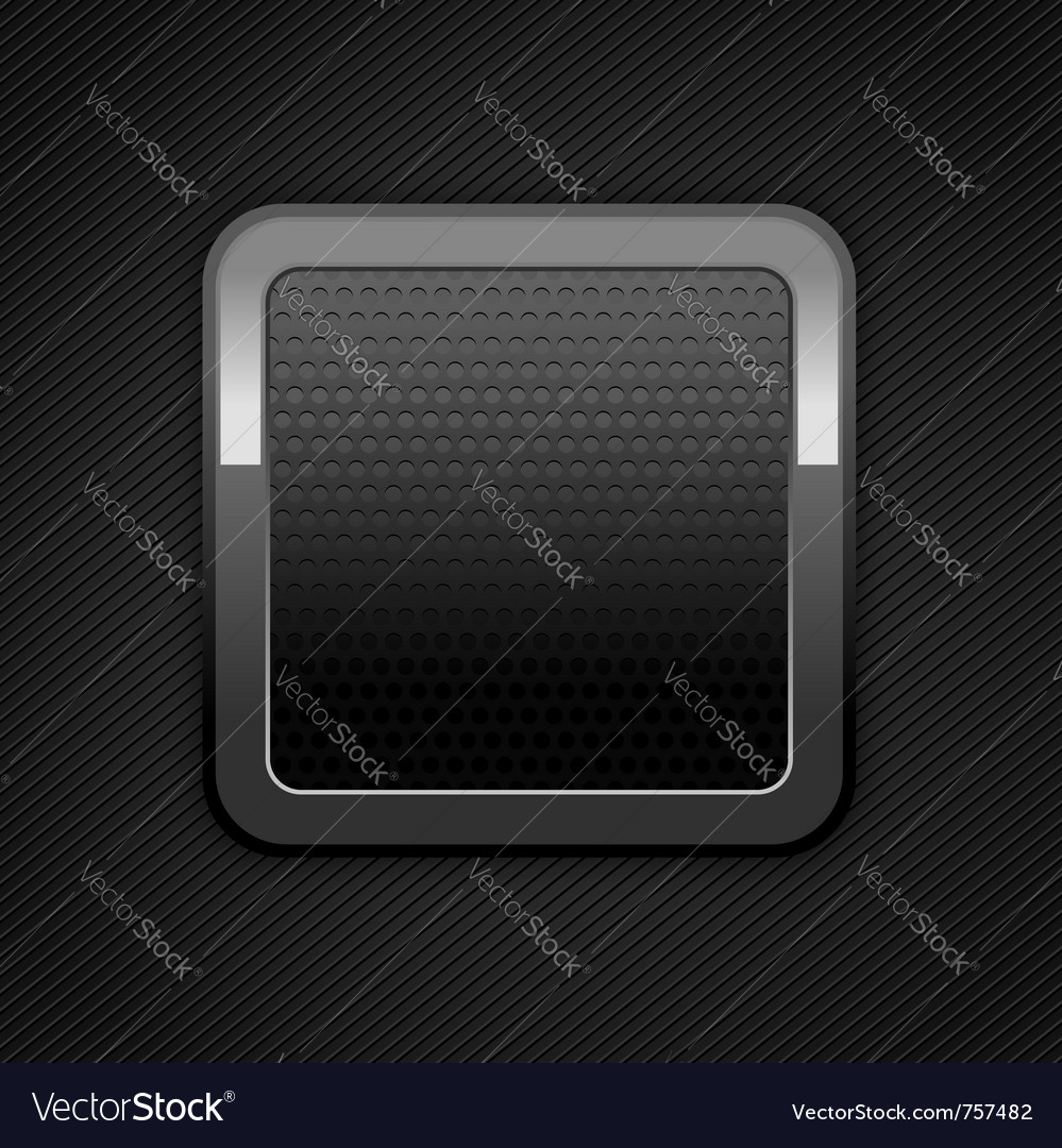 Metal web button vector | Price: 1 Credit (USD $1)