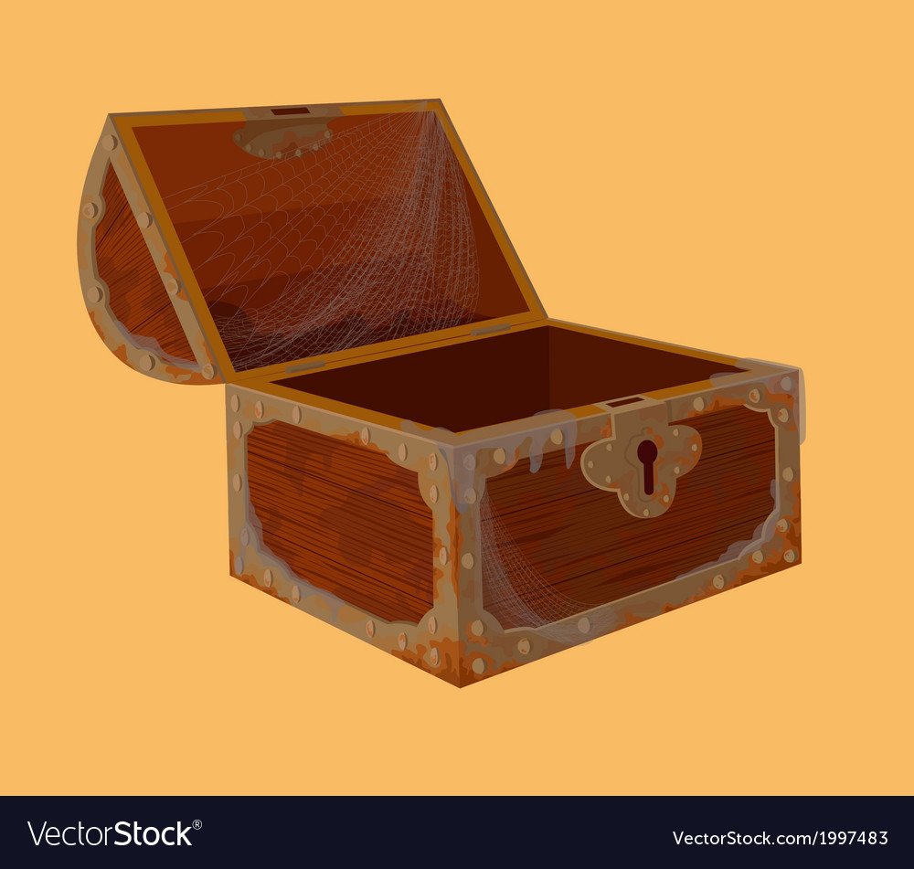 Old chest vector | Price: 1 Credit (USD $1)