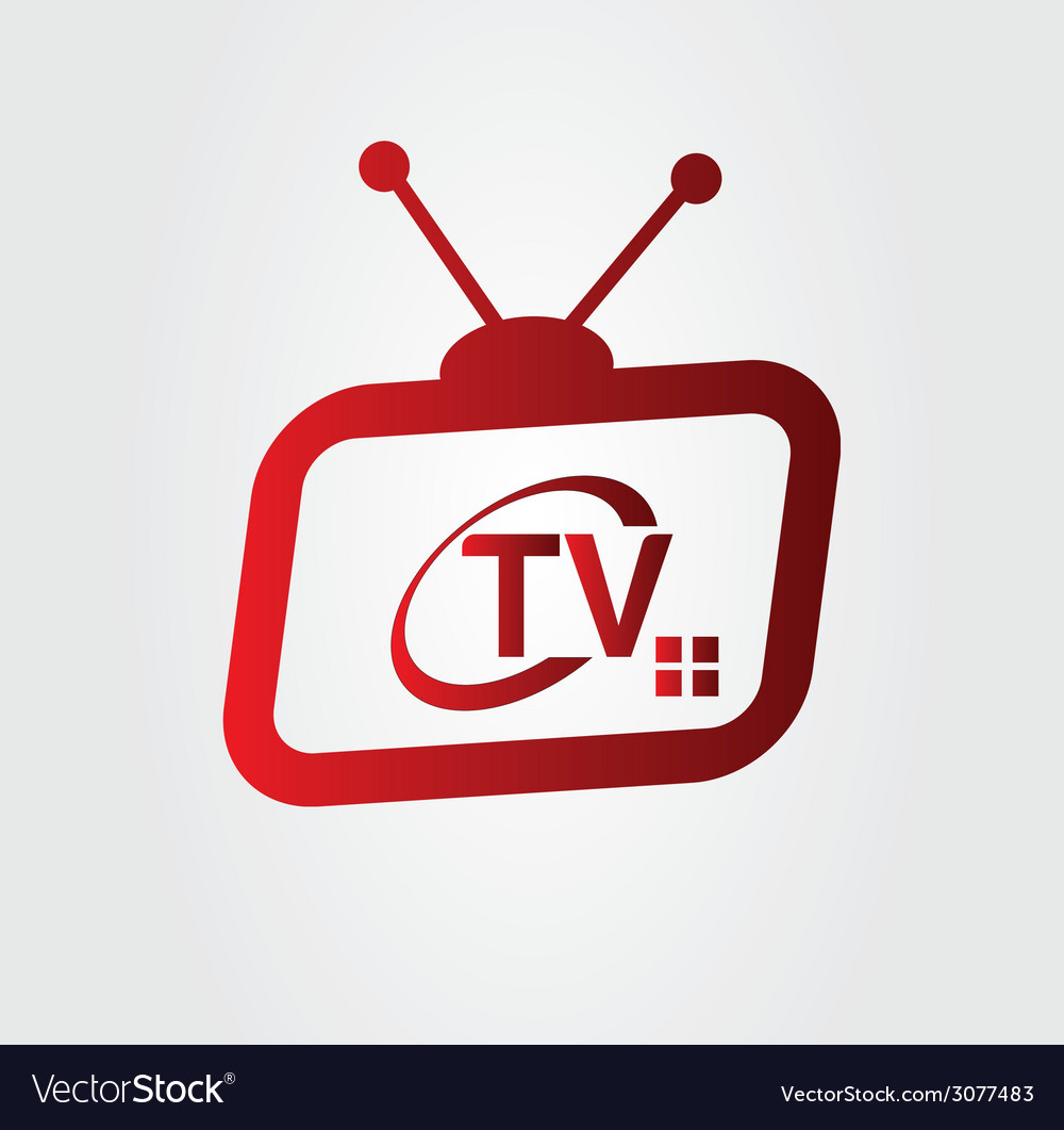 Television logo vector | Price: 1 Credit (USD $1)