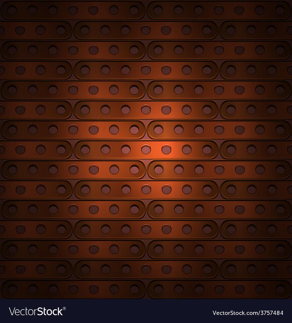 Metallic background steampunk vector | Price: 1 Credit (USD $1)