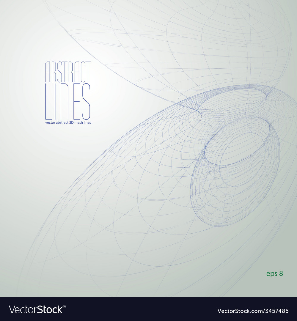 Abstract lines communication and digital te vector | Price: 1 Credit (USD $1)