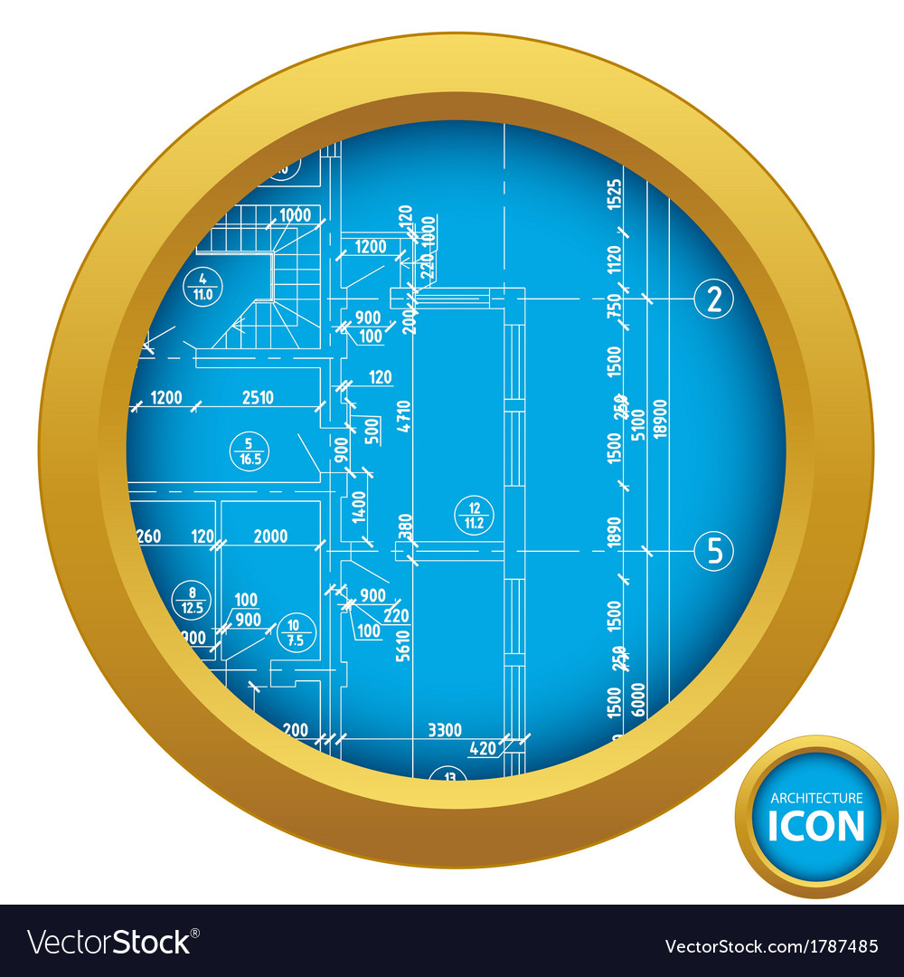Architecture icon vector | Price: 1 Credit (USD $1)