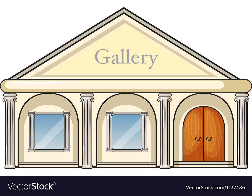 A gallery vector | Price: 1 Credit (USD $1)