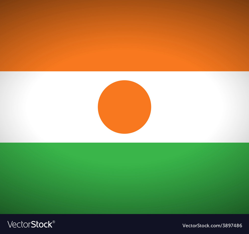 Flag of niger vector | Price: 1 Credit (USD $1)