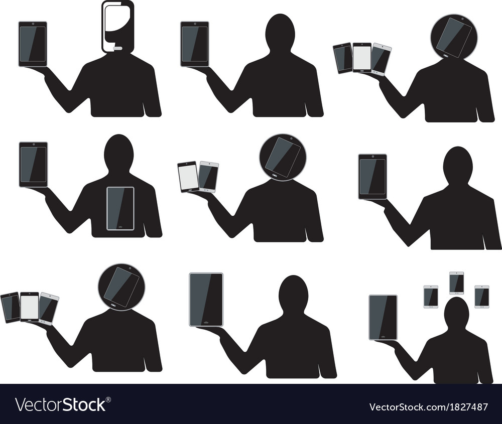 Cell fone vector | Price: 1 Credit (USD $1)