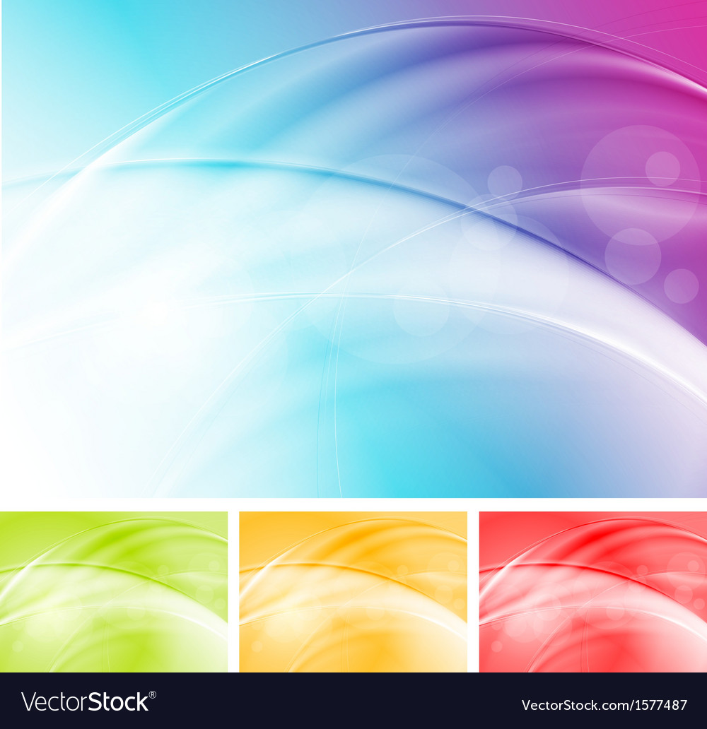 Colourful waves abstract design vector | Price: 1 Credit (USD $1)