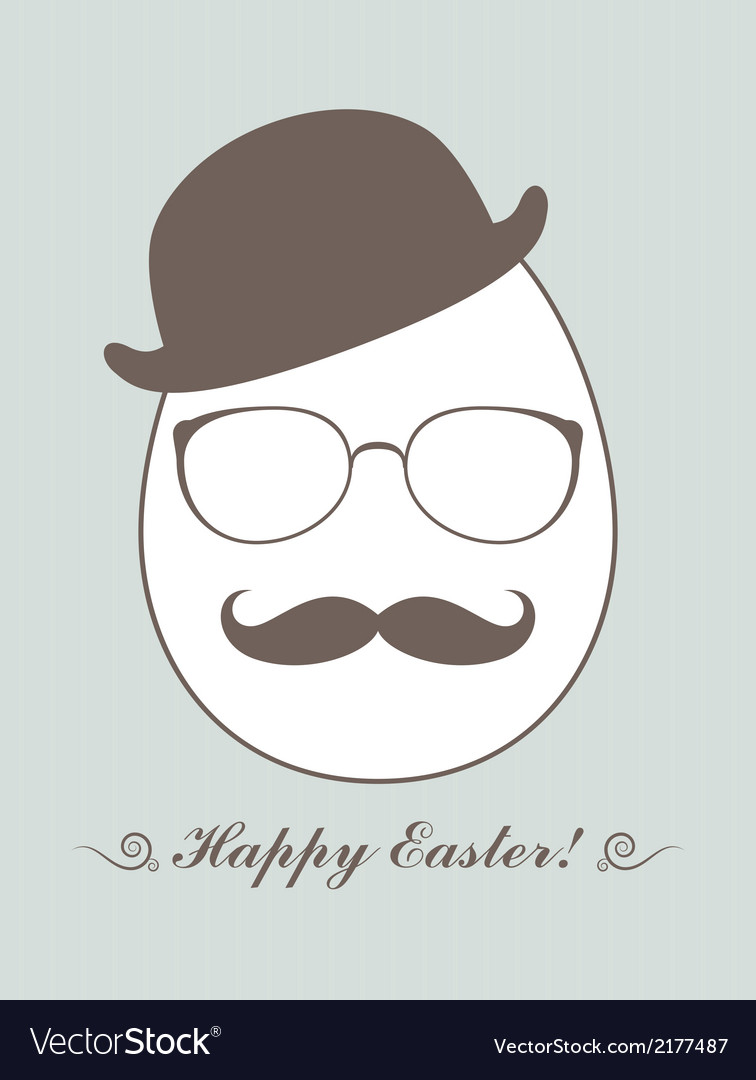Hipster easter vector | Price: 1 Credit (USD $1)