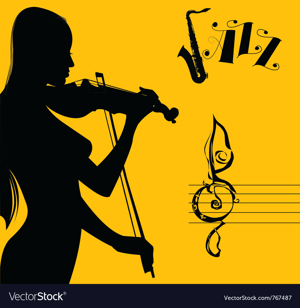 Sexy jazz vector | Price: 1 Credit (USD $1)