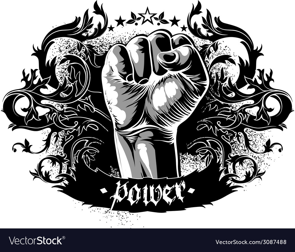 Decorative symbol of power vector | Price: 1 Credit (USD $1)