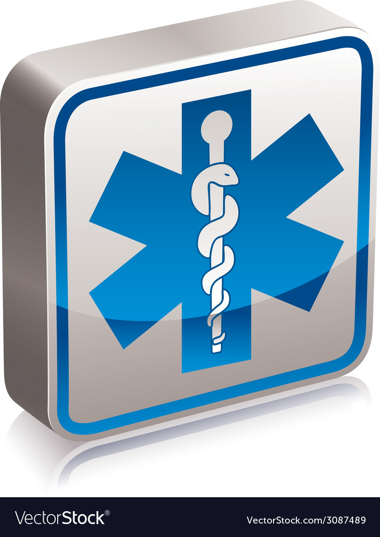 Ambulance medicine symbol vector | Price: 1 Credit (USD $1)