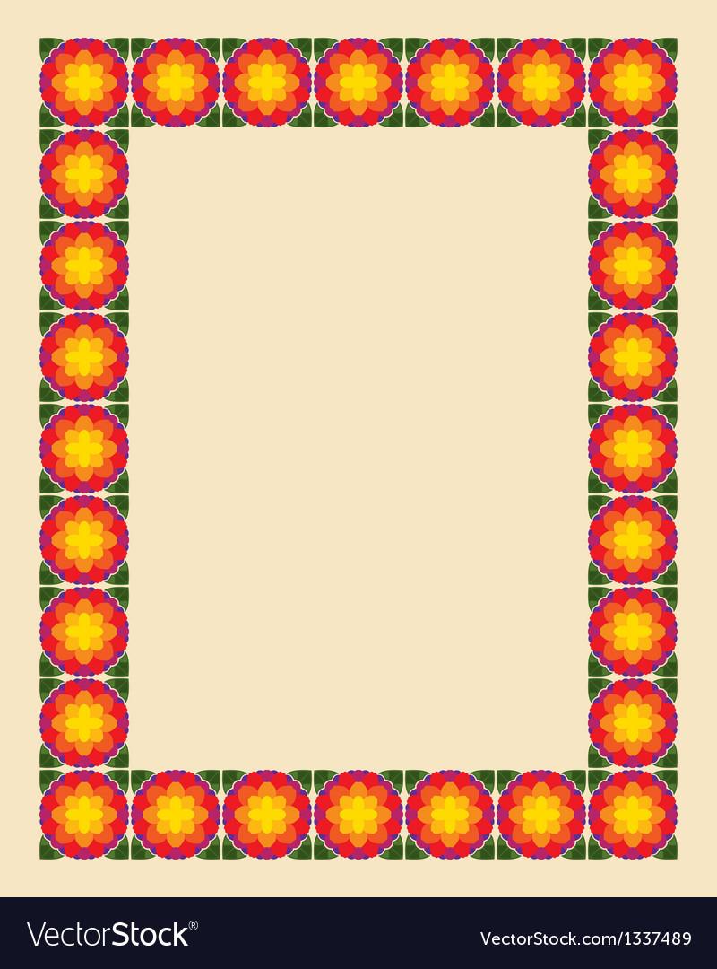 Art nouveau border photo frame vector | Price: 1 Credit (USD $1)
