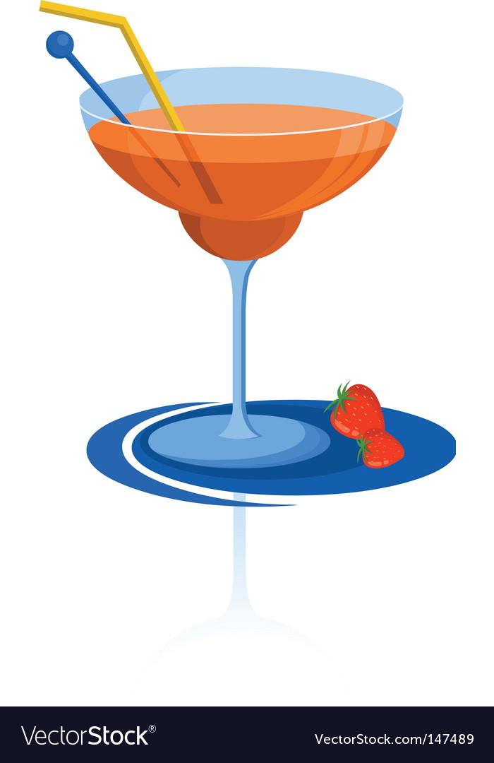 Martini glass vector | Price: 1 Credit (USD $1)