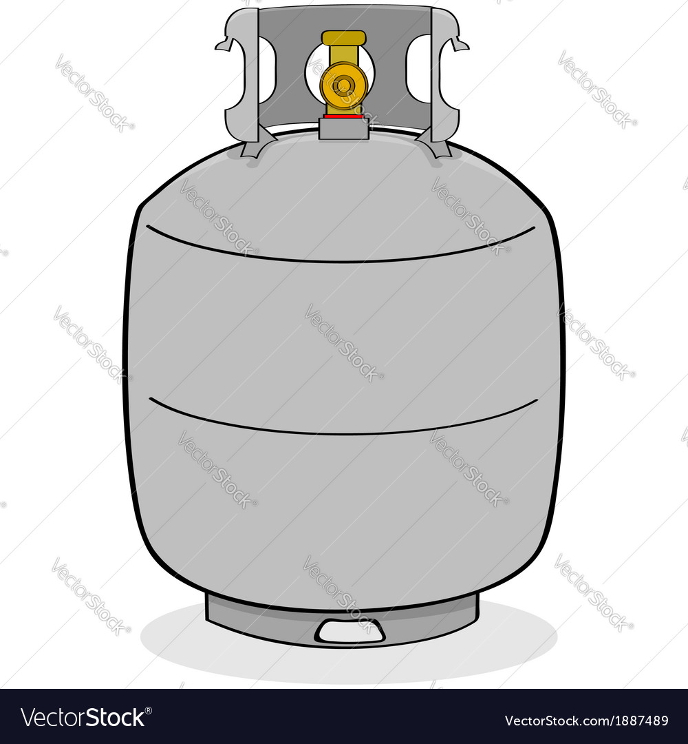 Propane tank vector | Price: 1 Credit (USD $1)