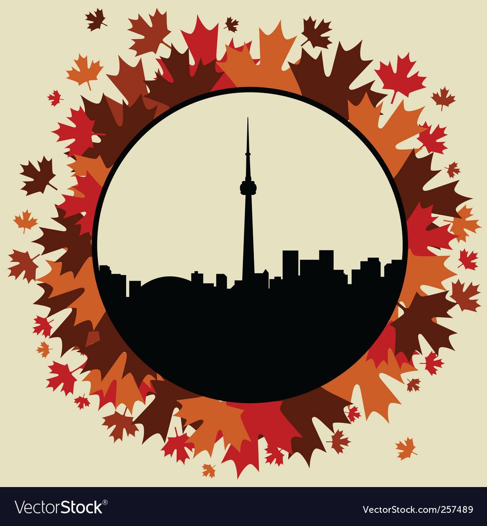 Toronto vector | Price: 1 Credit (USD $1)