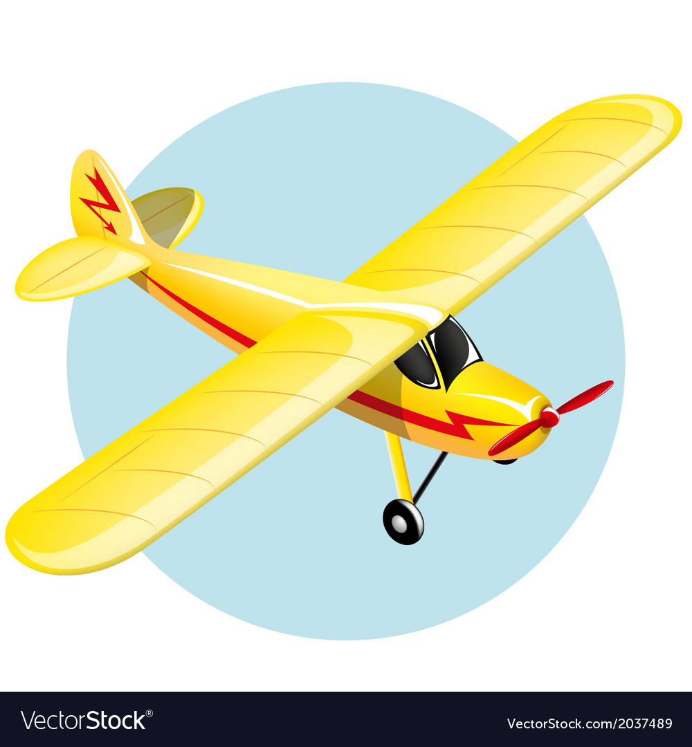 Vintage plane vector | Price: 1 Credit (USD $1)