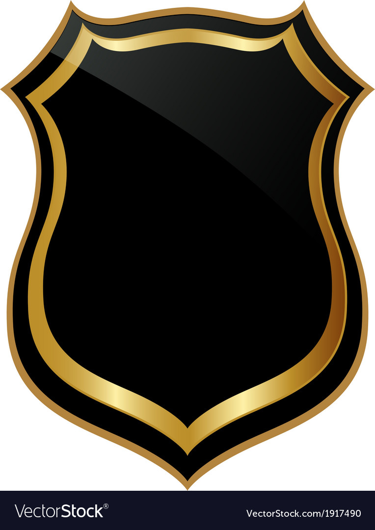 Abstract golden badge vector   Price: 1 Credit (USD $1)