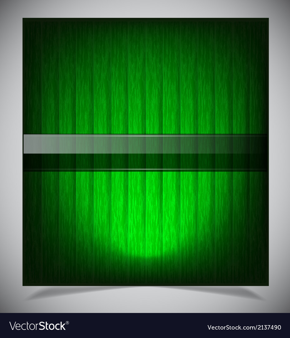 Abstract green wood background vector | Price: 1 Credit (USD $1)
