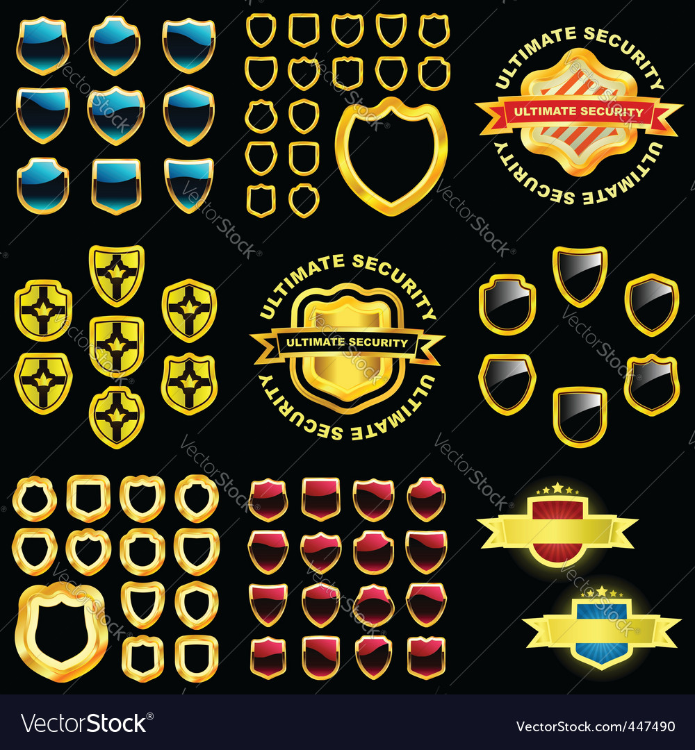 Shields great collection vector | Price: 1 Credit (USD $1)