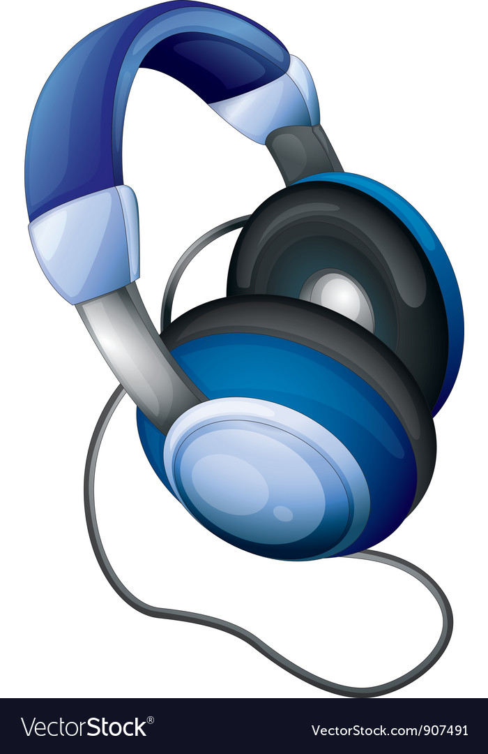 Headphones vector | Price: 1 Credit (USD $1)