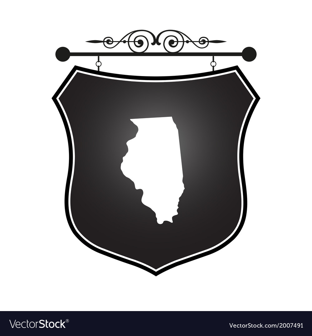 Illinois vector | Price: 1 Credit (USD $1)