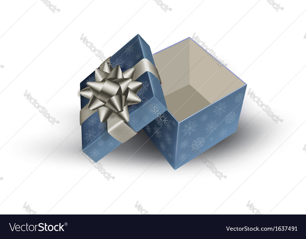 Open gift box vector | Price: 1 Credit (USD $1)