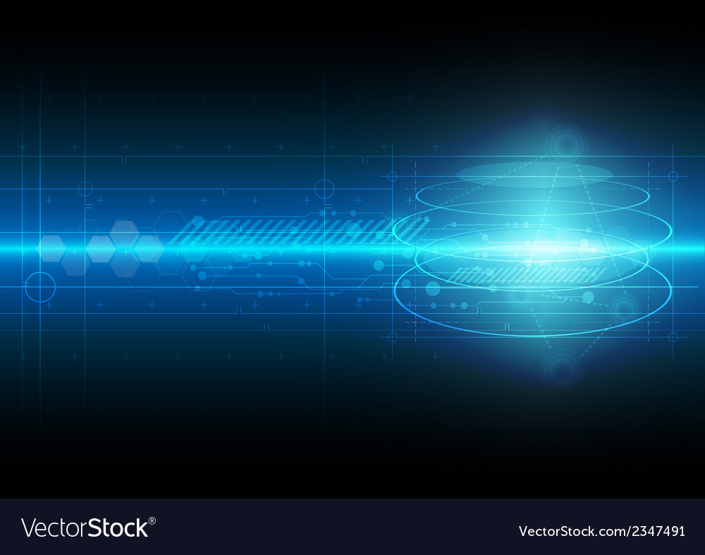 Science technology background vector | Price: 1 Credit (USD $1)