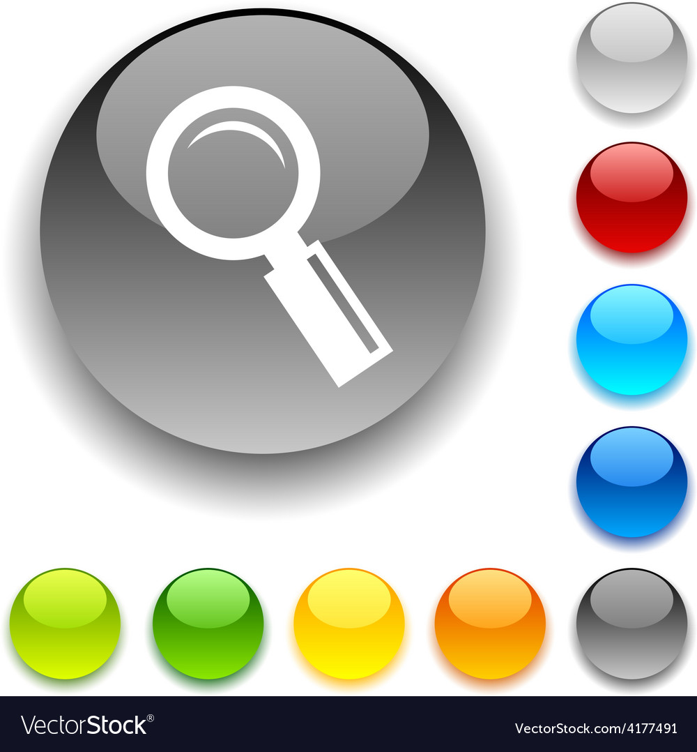 Searching button vector | Price: 1 Credit (USD $1)