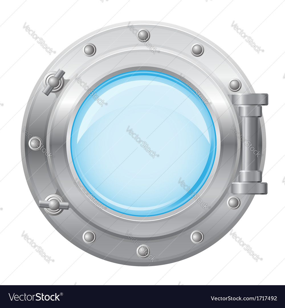 Boat porthole 01 vector | Price: 1 Credit (USD $1)