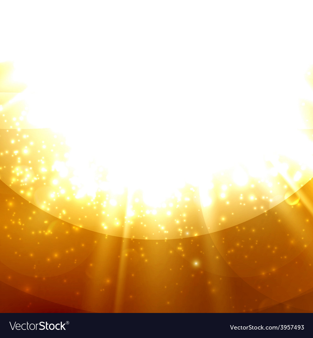 Abstract of light rays on the amber vector | Price: 1 Credit (USD $1)